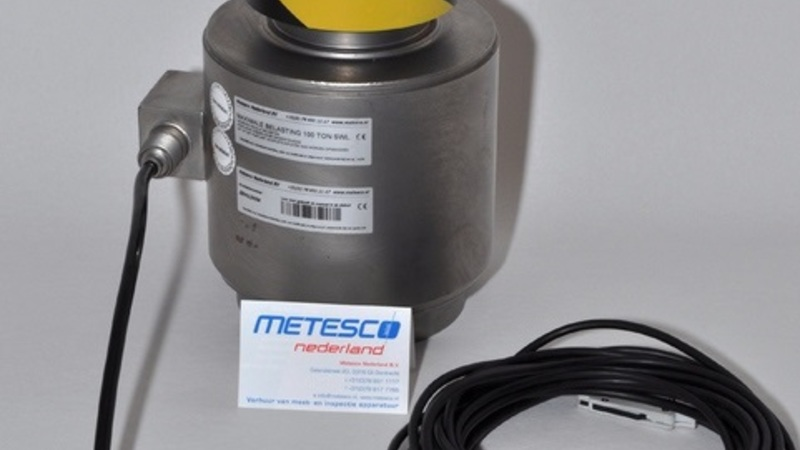 Metesco Loadcell Compressie 100 Ton
