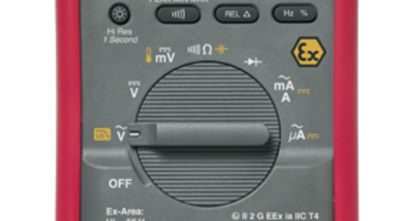 rental of ex certified multimeter fluke 87V EX