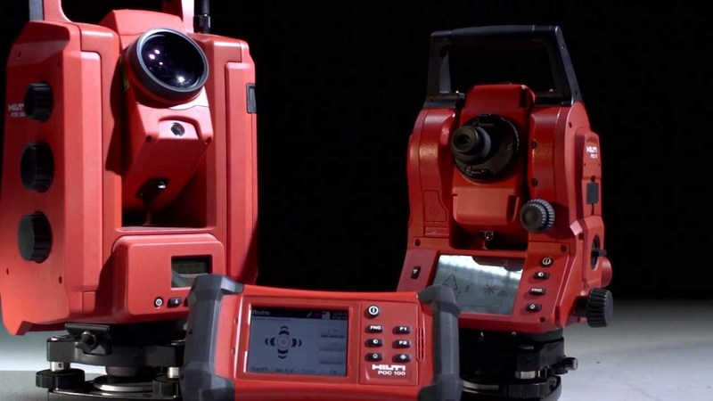 Hilti POS180 Robotic Total Station