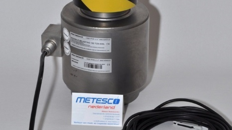Metesco Loadcell Compressie 3 Ton