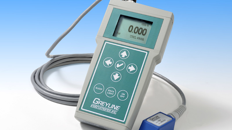 Greyline PDFM 5.1 Portable Doppler Flowmeter