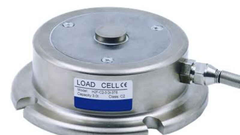 Metesco Loadcell Compressed 10 Ton Laag