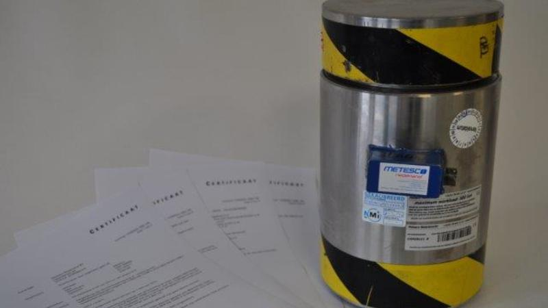 Metesco Loadcell compressed 500 Ton
