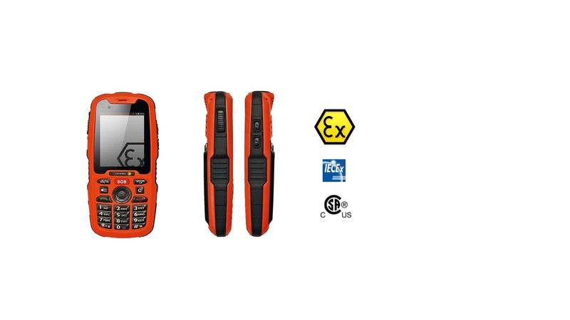 Isafe IS320.1 atex telefoon, Metesco